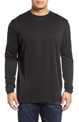Bugatchi Men's Long Sleeve Crewneck T Shirt