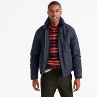 J.Crew Wallace And Barnes Sherpa Lined N 1 Jacket