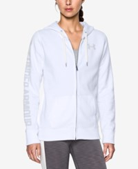 Under Armour Favorite Fleece Hoodie White Elemental