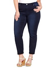 Addition Elle Plus Dark Wash Soft Jegging Dark Navy