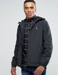 Lyle And Scott Showerproof Raincoat In Black Black