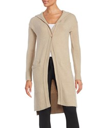 Ugg Judith Hooded Cardigan Taupe
