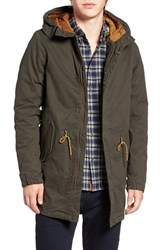 Scotch And Soda Men's Long Fishtail Parka