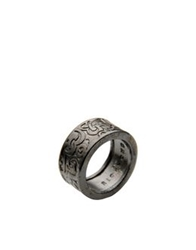 John Richmond Rings Steel Grey