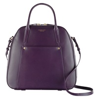 Radley Highbury Barn Leather Multiway Bag Purple Purple