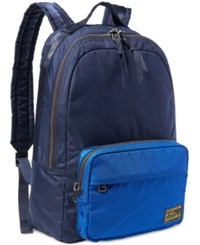 Polo Ralph Lauren Men's Military Dome Backpack Navy Royal