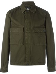 Paul Smith Ps By Double Pocket Field Jacket Green