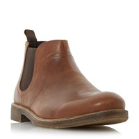 Howick Cattle Leather Chelsea Boots Tan