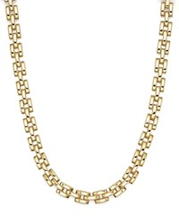 Roberto Coin 18K Yellow Gold Retro Collar Necklace 16