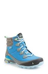 Women's Ahnu 'Sugarpine' Waterproof Boot Blue