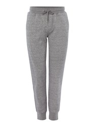Armani Jeans Cuffed Small Logo Sweat Joggers Grey