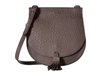 Just Cavalli Solid Pebbled Calf Skin Saddle Bag Litium