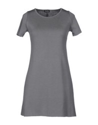 Charlott Short Dresses Grey
