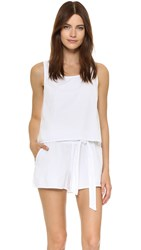 Splendid High Tide Romper White