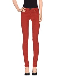 Ag Adriano Goldschmied Trousers Casual Trousers Women Rust