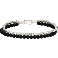 Double Band Bracelet Black