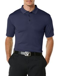 Callaway Athletic Polo Navy