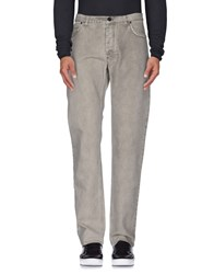 Lanvin Denim Denim Trousers Men Light Grey