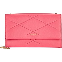 Lanvin Quilted Small Shoulder Bag Bright Pink
