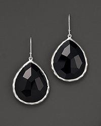 Ippolita Rock Candy Teardrop Earrings In Black Onyx No Color