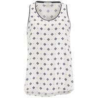 Rag And Bone Rag And Bone Women's Teddy Tank Top White Cap Diamond