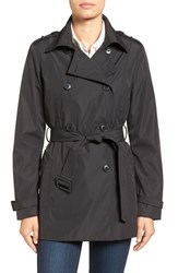 Larry Levine Women's Water Resistant Trench Coat