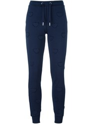 Zoe Karssen Heart Track Pants Blue