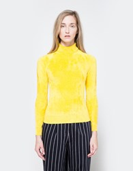 Creatures Of Comfort Shrunken Turtle Neck In Yellow