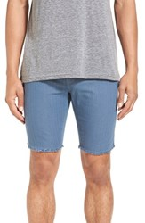 Men's Ezekiel 'Kranston' Cutoff Denim Shorts Dark Indigo