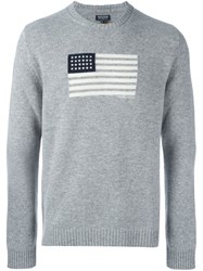 Woolrich 'Womag' Pullover Grey