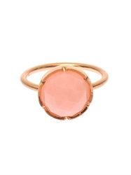 Irene Neuwirth Pink Opal And Rose Gold Ring