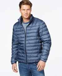 Hawke And Co. Outfitters Packable Down Jacket Dark Denim