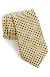 Nordstrom Men's Shop Men's Nordstrom 'Three Color Nate' Geometric Silk Tie X Long