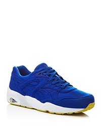 Puma Bright Lace Up Sneakers Compare At 140 Blue