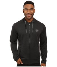 Hurley Dri Fit Disperse Zip Black Men's Clothing