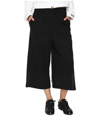 Yohji Yamamoto Jersey Pants Black Midnight Women's Casual Pants