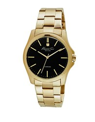 Kenneth Cole Diamond Accent Goldtone Stainless Steel Bracelet Watch 10027421
