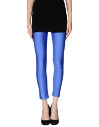 Letube Trousers Leggings Women Bright Blue