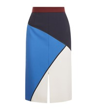 Escada Recalla Skirt Female Blue