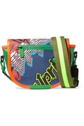 Marc By Marc Jacobs X Body Coated Canvas Shoulder Bag Green