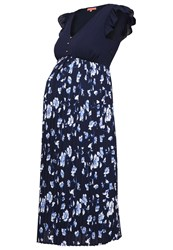Mintandberry Mom Summer Dress Navy Blazer Dark Blue
