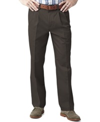 Dockers Big And Tall D3 Classic Fit Easy Refined Pleated Pants Fig