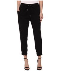 Joe's Jeans Off Duty Cropped Jogger Black Women's Casual Pants