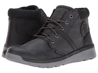 Palladium Pallaville Hi Cuff L Black Metal Men's Lace Up Casual Shoes
