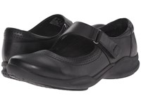 Clarks Wave Wish Black Leather Women's Shoes