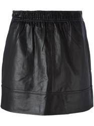 Vanessa Bruno Athe Straight Short Skirt Black