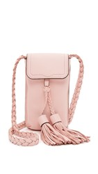 Rebecca Minkoff Isobel Phone Cross Body Bag Baby Pink