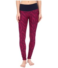 Brooks Greenlight Tights Se Currant Little Sunshine Currant Women's Casual Pants Red