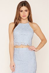 Forever 21 Wyldr Crochet Cropped Cami