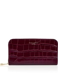 Aspinal Of London Continental Clutch Wallet Bordeaux